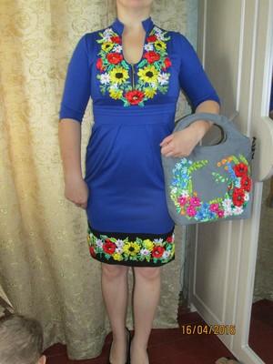 платье вышитое лентами (одно на выбор) купить - 3999935 - интернет ... cd50d3c28e025