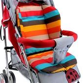 В наличии! Новый матрасик в коляску, автокресло, стульчик для кормления