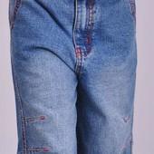 Шорты - бриджи для мальчика, джинс, размер №7