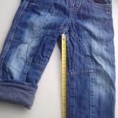 штаны на хлопковой подкладке 86-92 рост
