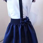 """Снова в продаже всеми любимые Блузочки! Очень красивенькие блузочки """"жемчуг """" рост 128-152."""