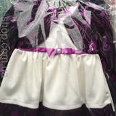 Нарядное платье для девочки   68р