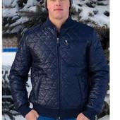 Заказ на этой неделе. Демисезонная мужская куртка американка для крупных мужчин, 54, 56,58,60 рр.