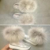 ботинки с мехом много обуви