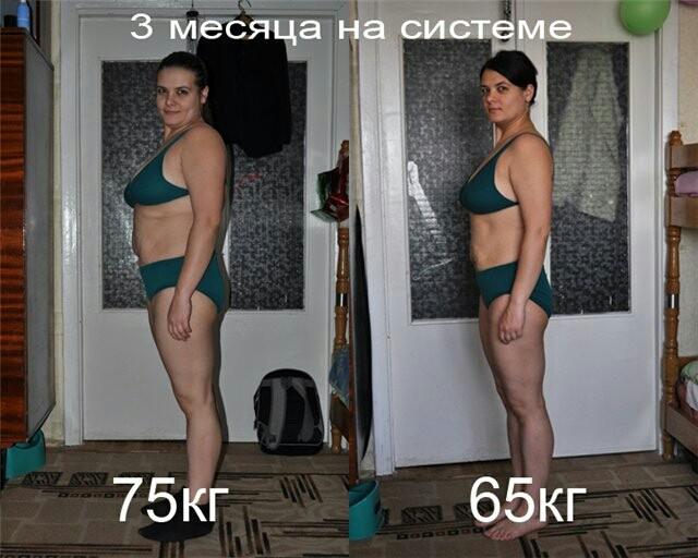 Как похудет за месяц на 10кг