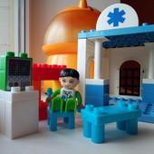 Конструктор больница из аналогов Lego Duplo 25шт.