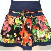 Классная новая юбочка размер 98-104 см. Последняя.