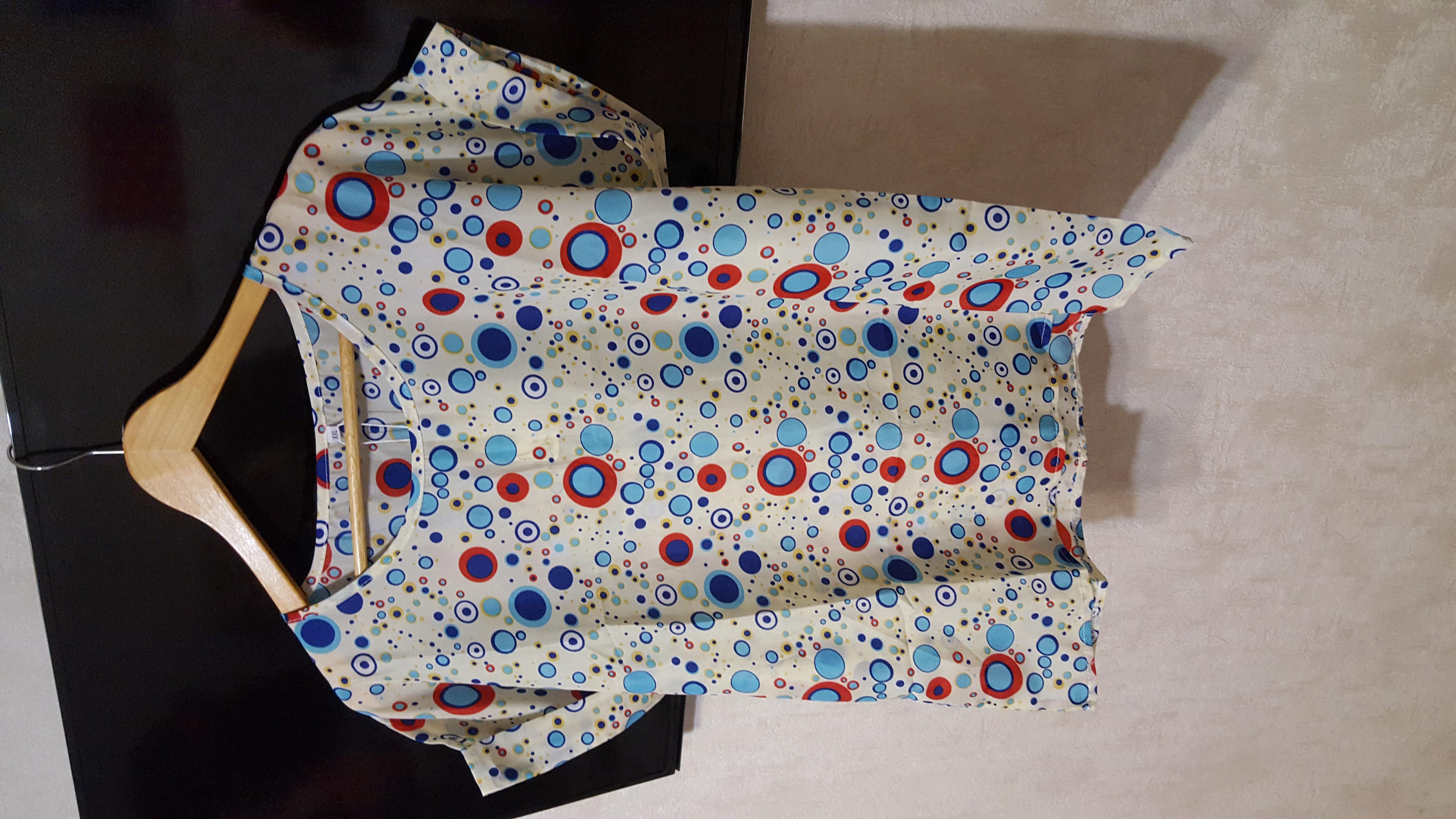 Фирменная новая блузка xxl , очень стильная, замеры !
