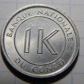 Монета. Конго. 1 ликута 1967 года.
