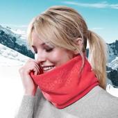 Новый теплый микрофлисовый шарф-воротник от Tchibo Германия