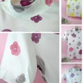 Стильная вискозная блузка C&D 42-44. Мой обидный пролет