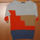Тонкий женский свитер под джинсы р.S-M весна-лето-осень. Смотрите замеры.
