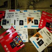Флешки usb 16/32/64Гб usb3.0. Мега цена! Оригинал. Есть и карты памяти! От 5 шт - бесплатна доставка