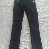 Новые джинсы на флисе (высокая посадка)