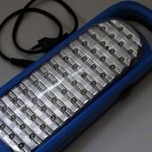 Отличный  аккумуляторный  светильник  на  50 led.  Качество  супер