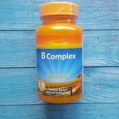 Незаменимые Витамины группы В, комплекс рисовыми отрубями, 60 таблеток США iherb
