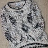 Стильный свитер травка с люриксом