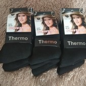 Термо-носки,черные✓37-41✓унисекс✓плотная махра