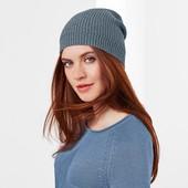 Стильная вязанная шапка (5% шерсть ) от ТСм Чибо германия , размер 50-54