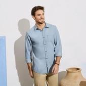 Стильная рубашка Livergy (Германия), 100 % хлопок! р. С