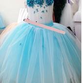 платье бальное шикарное 110-122