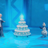 Именное видео-поздравление с Днем Рождения от Эльзы, золушки, чпаука, деда Мороза и для взрослых