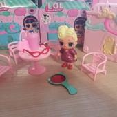Новинка! Куколка L.O.L. в игровом наборе с мебелью