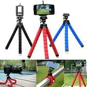 Универсальный гибкий штатив для цифрового фотоаппарата, планшета, смартфона, экшен-камеры!