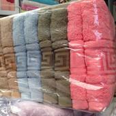 Набор махровых полотенец 100*50 см - 2 шт.Плотные.Турция