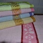 Набор махровых полотенец 100*50 см-2 шт. Венгрия