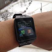 Новинка! Улучшенная, обновленная модель! Умные смарт часы Smart Watch dz-09
