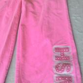 Розовые штанишки спортивные или для дома в идеале от George на 5-6лет.