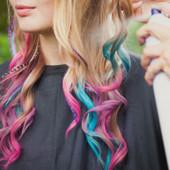 Мелки для временного окрашивания волос, разные цвета, 1 шт. (цвет)