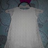 Zara!!! Плаття просто красота! 9-12м