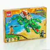 Конструктор Brick 1310 Legendary Pirates Свирепый крокодил 538 дет