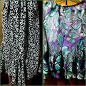 Две юбки 54размер одним лотом