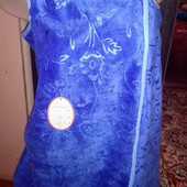 Полотенце - халат. Микрофибра 140х85 см. Идея подарка к 8 марта.