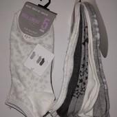 Primark!Готовимся к лету!Суперские женские короткие носочки 5 пар в упаковке рр 37-42