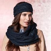 ☘ Теплый шарф-снуд крупной и красивой вязки от Tchibo(Германия), размер универсальный