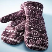 Варежки теплые на флисе ТСМ германия размер 7.5