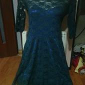 очень красивое ажурное платье на 13.15 л