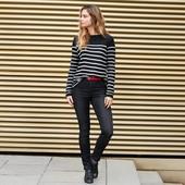 Стильные джинсы с высокой посадкой, моделирующие фигуру, Tchibo(Германия), р.42,46евро