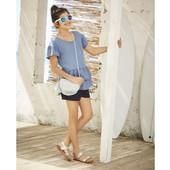 Классная, легкая, джинсовая блузочка Pepperts , рост 128