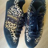 Кожаные туфли-кроссы Pantofola d'Oro Италия 39р.