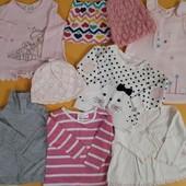 Весенне-летний гардероб для девочки (62-86см)