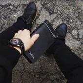 Мужской портмоне кошелёк Baellerry Italia, лот - 1 шт.