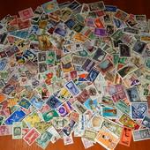 Почтовые марки разных стран мира. 365 шт.