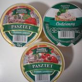 Польша!Очень вкусный паштет(на выбор один) с курицы ,курицы и помидорами,курицы и паприкой 130 грамм