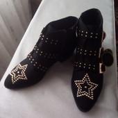 Модные,стильные ботинки Primark
