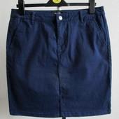 ☘ Плотная и качественная юбка, на ощупь, как джинс, Tchibo(Германия), размеры наши: 42-44 (36 евро)